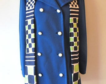 1970s Jacket w/ Matching Scarf