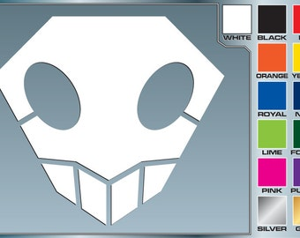 SHINIGAMI SKULL from Bleach Cut Vinyl Decal Car Laptop Anime Sticker for Almost Anything