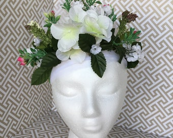 Adult Floral Headpiece