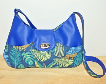 Tropical blue Taissie purse