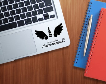 Alicorn Pegacorn Laptop Sticker Decal - Why Settle for One Awesomeness
