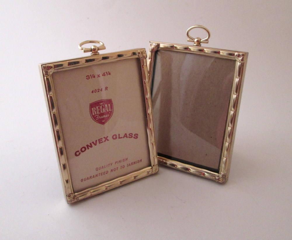Photo Frame Set, Vintage Bubble Glass Frame, mini picture frames ...