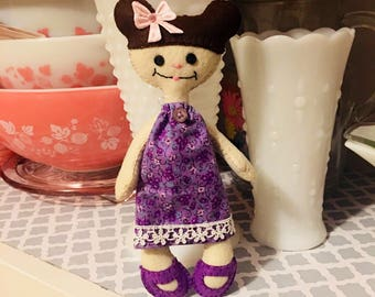 Violet (Felt Doll)