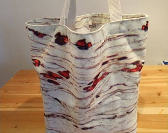 Photomicrograph Tote - satchel - tote bag - craft bag