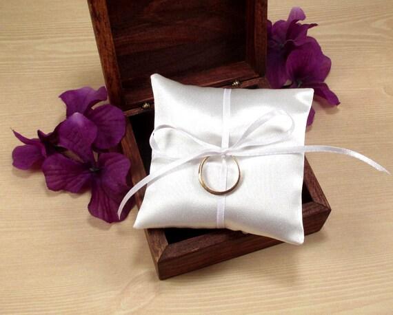 Wedding Ring Pillow Ring Bearer Box Pillow Mini Ring Pillow