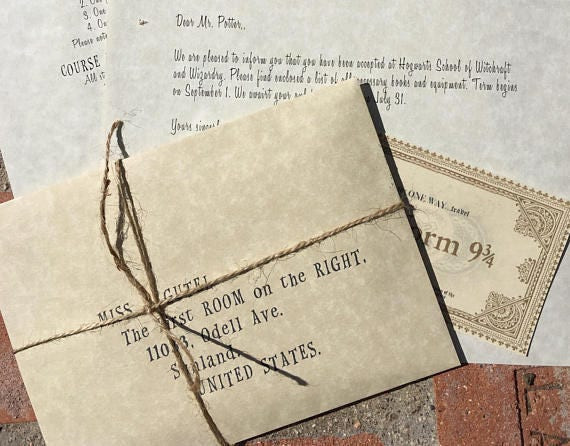 Harry potter fully customizable party invitation personalized stopboris Images