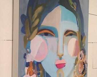 Ka'iuliani PRINT on Canvas 18x24