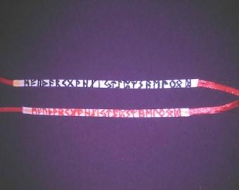 charm bracelet custom formula choice esoteric spiritualism Rune divination runes.