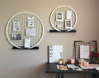 Moodboard Sphere L, 85 cm, Memo, Photowand, Pinboard, board, organizer, wall decor, to-do list, Notepad.