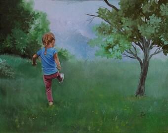 Childhood - Fine Art Print