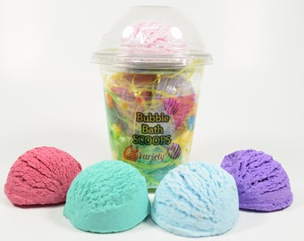 Easter Bubble Bath Scoops, Easter Bubble Bar, Ice Cream Scoops, Bubble Scoop, Easter Basket, Easter for Girls, Easter for Boys
