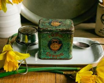 Small Vintage Tea Tin