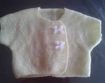 Kimono baby wool snap