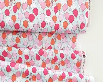 The Best of Sarah Jane - Balloons(Blue Background) - Sarah Jane - Michael Miller Fabrics