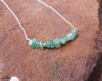Necklace, Chain necklace, jade necklace