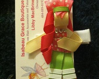 Ribbon Sculptures - Strawberry Shortcake, Karate Girl, Rainbow Brite, Bride