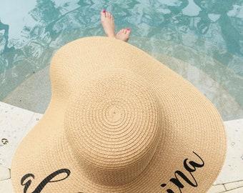 Custom Floppy Hat | Custom Sun Hat | Custom Floppy Sun Hat | Bachelorette Party Gift | Sun Hat | Beach Hat | Bridal Party Sun Hat