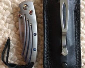William Henry Custom pocket knife