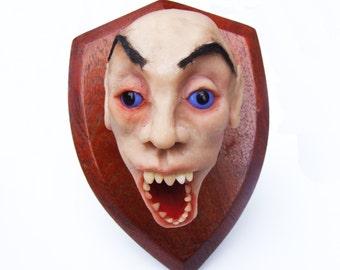 stuffed and mounted head - Vlad