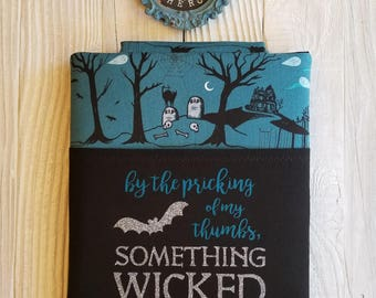 SOMETHING WICKED book sleeve