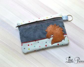 Horse Bag, Cosmetic Bag, Toiletry Bag, Makeup Bag