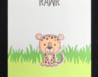 Rawr You Make Me Wildly Happy Greeting Card