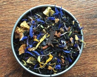 Karou Custom Loose Leaf Tea Blend - Daughter of Smoke and Bone - Peach - Chai - Apple - Creme
