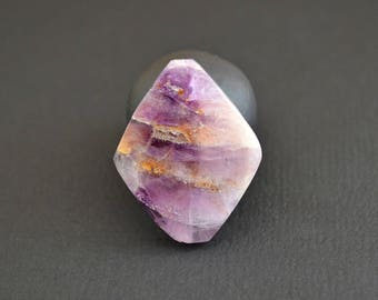Fluorite natural stone cabochon 30 x 24 x 4 mm