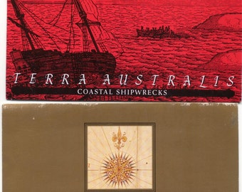 Pair of Stamp Gift sets, Terra Australis and Coastal Shipwrecks