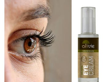 Antiageing Eye Cream with Organic Olive Oil, Antiageing Eye Care, Natural Cosmetics, Olive Oil Cosmetics
