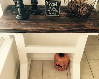 Local Pick Up Only - Farm table inspired entry table