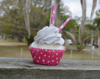 Pink Cupcake (fake)