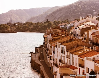 Spain Print Spain Photography Coastal Wall Art Cadaques Spain Travel Print Spain Photo Spain Wall Art Seascapes Wall Art