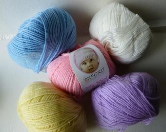 Baby Wool by Oxford, Machine Washable, 50/50 Wool Acrylic