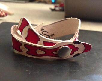 Snake Bracelet - Corn Snake Leather Bracelet