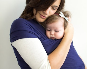 Baby Wrap, Baby Sling,Organic Baby Carrier,  Newborn Baby Carrier, Portland