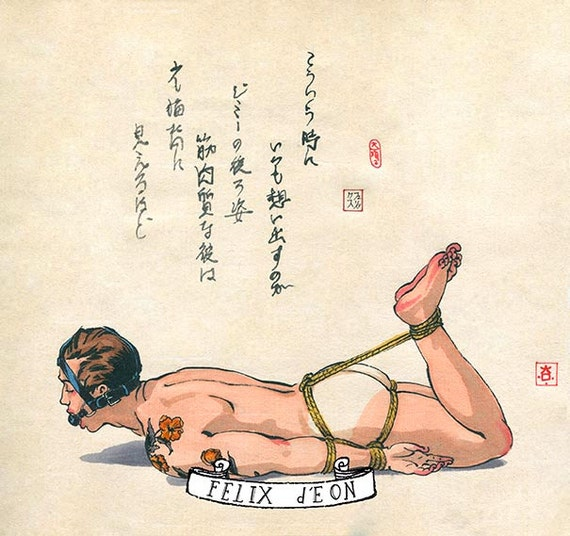 Thought, exactly. Art bondage male ass!!