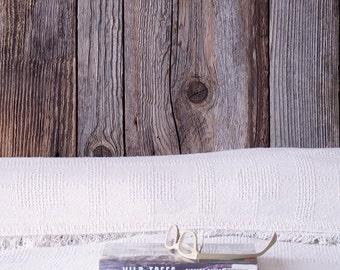 reclaimed wood headboard - from cinebar fir and steel - modern urban, industrial salvage, recycled steel