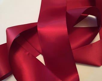 Burgundy Satin Ribbon/Sherry Satin Ribbon/Maroon Satin Ribbon/Burgundy Wedding/Burgundy Bridal Belt/Maroon Wedding Sash/Sherry Ribbon