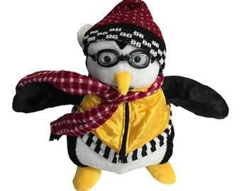 Huggsy Penguin Doll Friends TV Show Joey Tribbiani Hugsy Plush Toy Full Size Stuffed Animal Brand New Bedtime Penguin Pal Gift High Quality