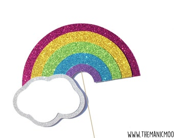 Magical Rainbow Photo Booth Prop