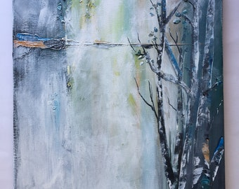 "Original Artwork ""Morning Birch"""