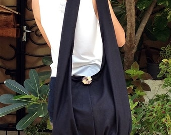 Handbags Canvas Bag Shoulder bag Sling bag Hobo bag Boho  bag Messenger bag Tote bag Crossbody Purse  Black