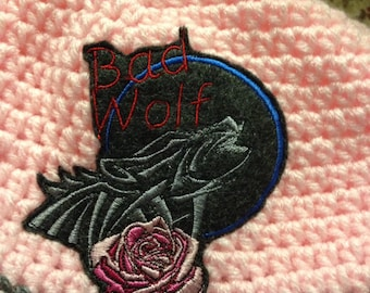 Bad Wolf Doctor Who Beanie