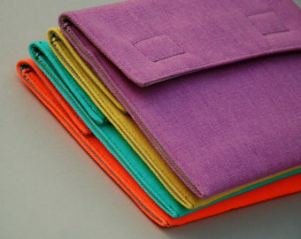 Padded Cotton Case for Surface, Transformer, Kindle, Nexus