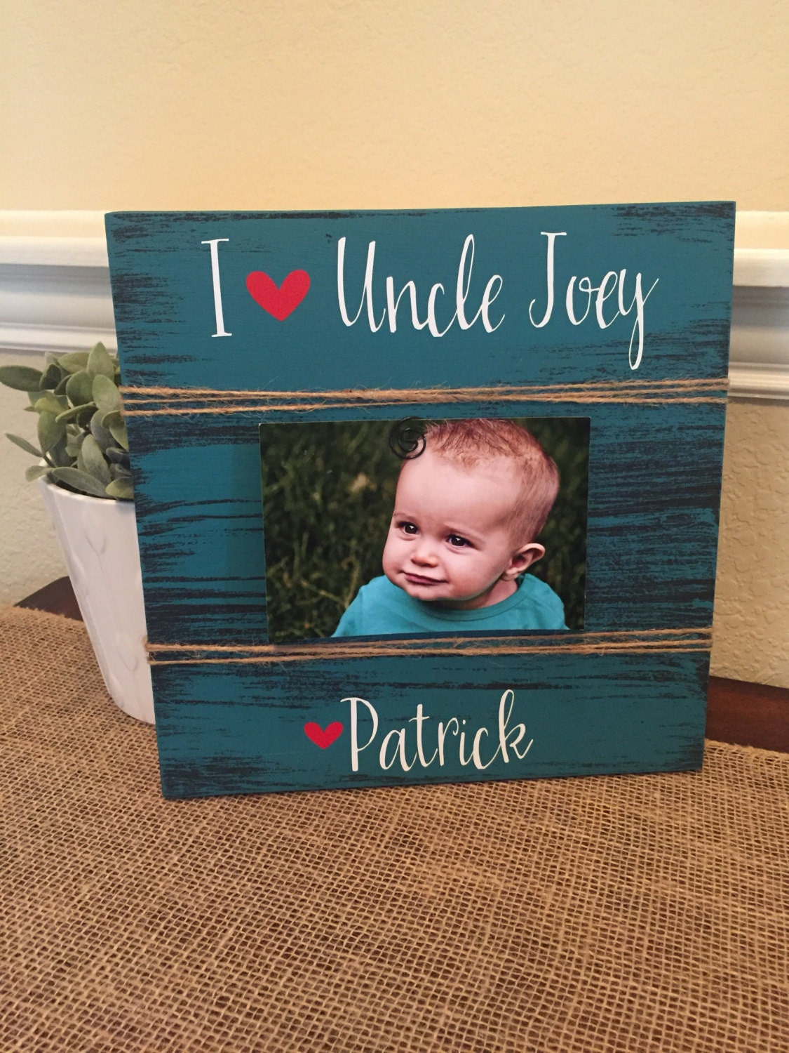 uncle gift frame gift for brother i love my uncle brother gigi ...