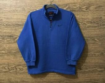 Sale Rare Nike Sweatshirt Small Embroidery logo Nice Design Size on tag  Medium 0d7e4ca01