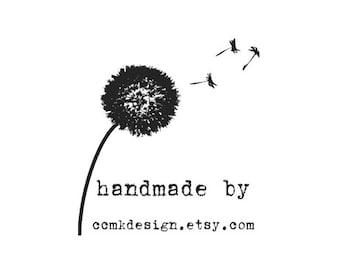 dandelion custom Rubber Stamp