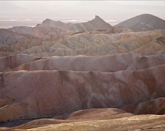 Flesh of the Earth - Zabriskie Point - Color Photo Print - Fine Art Landscape Photography (ZP02)