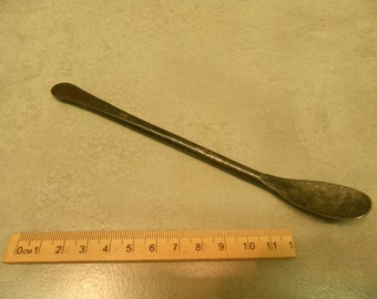 medieval steel spoon to a generic design reenactment use